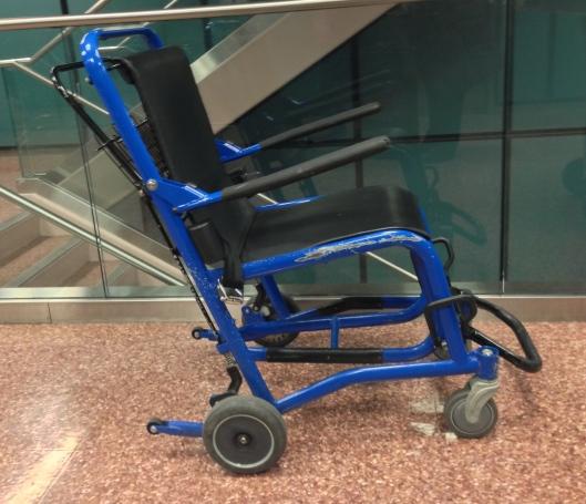 Airport wheel chair