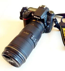 This is my D7000 bad-ass set up with the awesome AF-S TC-20E III lens.