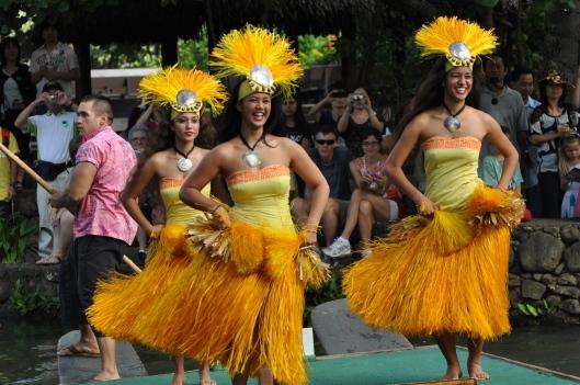 Tahitian smiles