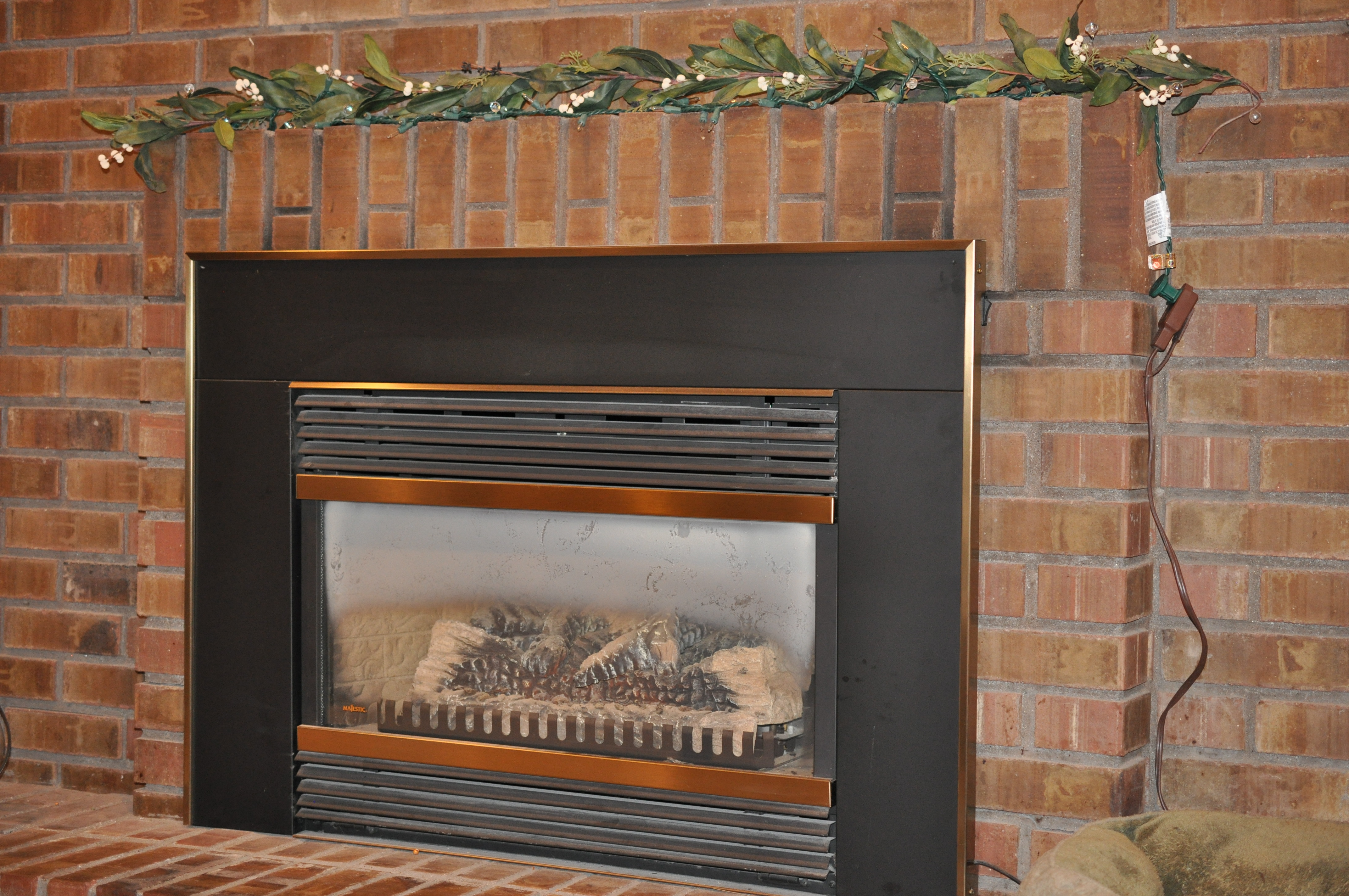fireplace makeover from ugly as spit to looking divine the baby