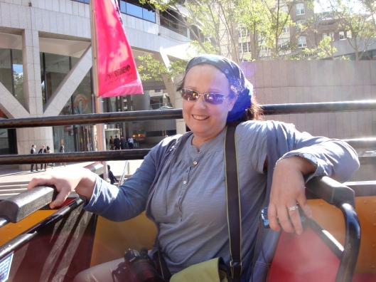 Yes. I have no pride. I'm aboard the Double Decker bus in Sydney.