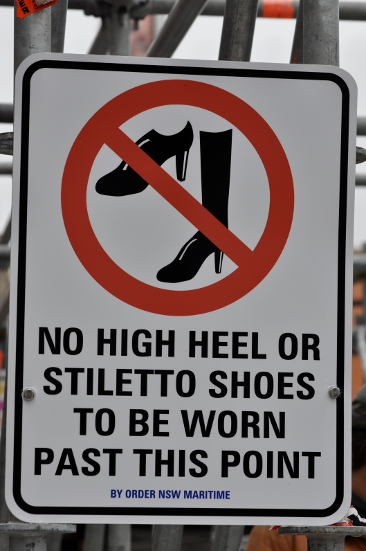 What did heels and stilettos ever do to them?