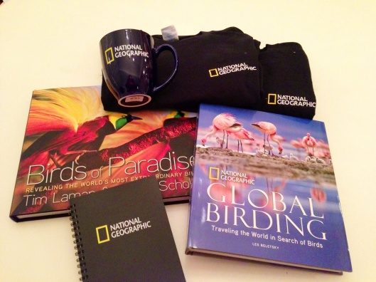 Stuff I bought at NatGeo