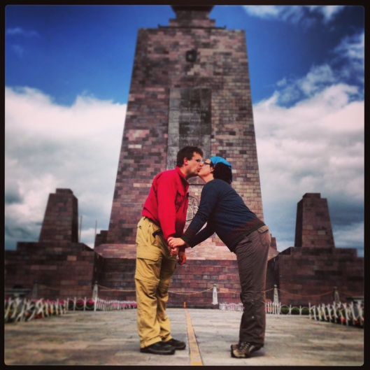 kissing across hemispheres