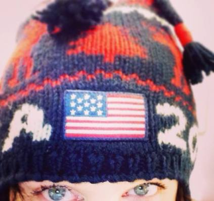 I'm all ready for the 2014 games with my new Team USA hat. Go team!