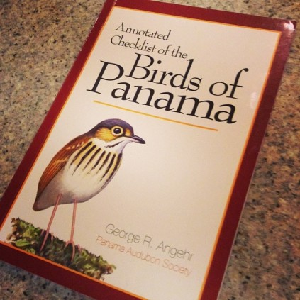 Birds of Panama checklist