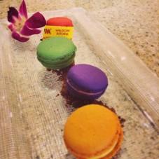 Macarons from Waldorf Panama