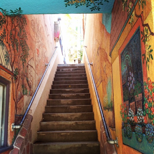 Bisbee stairs