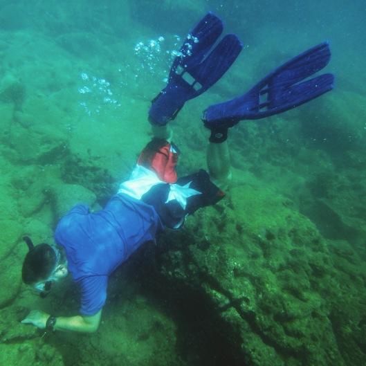 snorkeling Isla Contadora